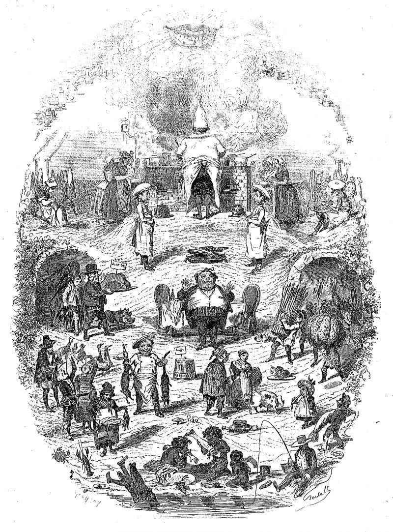 Bertall Les Alimens 1848