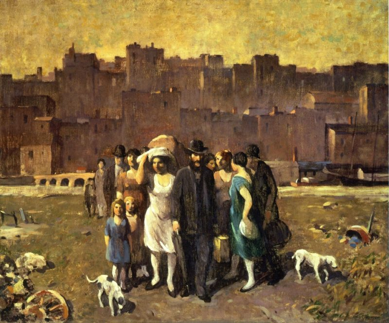 Robert Spencer The Exodus 1928